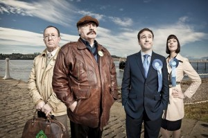 The cast of Bob Servant Independent, the hit BBc4 show