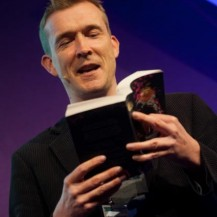 """I'm a servant of the book"": David Mitchell at the Edinburgh International Book Festival"