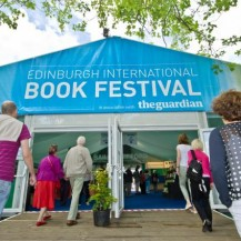 We're at the 2015 Edinburgh International Book Festival!
